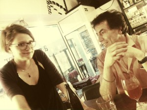 Eva Galitzendorfer und Marco Schautz