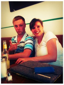 Alexander Geisenberger und Lisa Figas